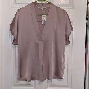Pink Silk Work Blouse